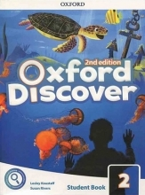 کتاب Oxford Discover 2 2nd - SB+WB+DVD