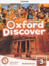 کتاب آکسفورد دیسکاور Oxford Discover 3 2nd - SB+WB+DVD