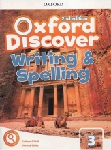 کتاب آکسفورد دیسکاور Oxford Discover 3 2nd - Writing and Spelling