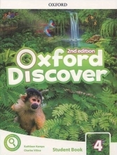 کتاب Oxford Discover 4 2nd - SB+WB+DVD
