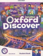 کتاب Oxford Discover 5 2nd - SB+WB+DVD