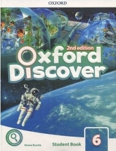 کتاب آکسفورد دیسکاور Oxford Discover 6 2nd - SB+WB+DVD