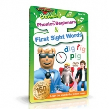 آموزش آواها و کلمات متداول اولیه انگلیسی برای کودکان (PHONICS FOR BEGINNERS & FIRST SIGHT WORDS (ROCK N LEARN