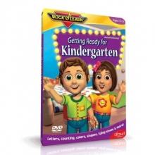 آمادگی زبان برای قبل از دبستان (GETTING READY FOR KINDERGARTEN (ROCK N LEARN