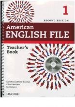 کتاب معلم امریکن انگلیش فایل American English File 1 Teachers Book+CD 2nd Edition