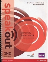 کتاب معلم Speakout 2nd Elementary Teachers Book+CD