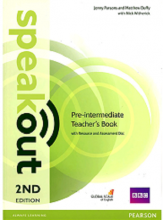 کتاب معلم Speakout 2nd Pre-Intermediate Teachers Book +CD