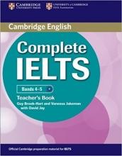 کتاب معلم کامپلیت ایلتس Complete IELTS Bands 4-5 Teacher's Book