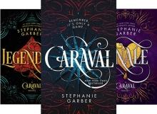 سری کتاب های رمان کاراوال Caraval 3 Book Series
