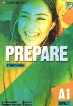 کتاب   Prepare 2nd 1 - A1 - SB+WB+2DVD