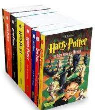 پکیج 8 جلدی سری کتاب رمان های هری پاتر آلمانی Harry Potter German Edition