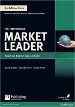 کتاب آموزشی مارکت لیدر Market Leader pre-intermediate 3rd edition
