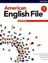کتاب امریکن انگلیش فایل 1 ويرايش سوم : American English File 3rd Edition