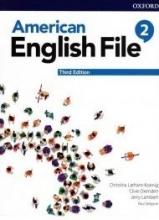 کتاب امریکن انگلیش فایل 2 ويرايش سوم : American English File 3rd Edition