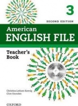 کتاب معلم American English File 3 Teachers Book+CD 2nd Edition