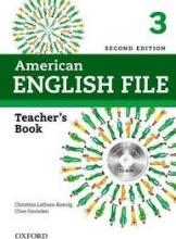 کتاب معلم امریکن انگلیش فایل American English File 3 Teachers Book+CD 2nd Edition