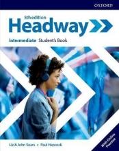 كتاب Headway Intermediate 5th edition st + wb + DVD