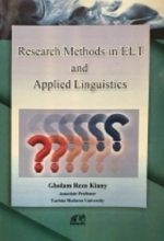 کتاب  Research Methods in ELT and Applied Linguistics