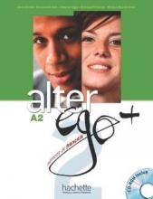 کتاب فرانسه آلتر اگو پلاس Alter EGO Plus A2 (S.B+W.B)+2CD