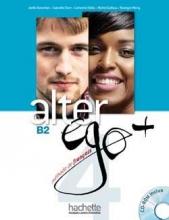 کتاب کتاب فرانسه آلتر اگو پلاس Alter EGO Plus B2 (S.B+W.B)+CD