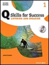 کتاب Q Skills for Success 1 Listening and Speaking 2nd+CD