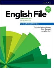 كتاب English File intermediate (4th) SB+WB+CD