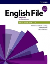 كتاب English File Beginner (4th) SB+WB+CD