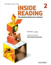 کتاب اینساید ریدینگ ویرایش دوم  Inside Reading 2nd 2 سایز کوچیک