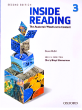 کتاب اینساید ریدینگ ویرایش دوم  Inside Reading 2nd 3 سایز کوچیک