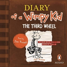 کتاب  داستان دایری آف ویمپی کاید Diary of a Wimpy Kid: The Third Wheel