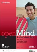 کتاب openMind 2nd Edition Level 3 Student's Book Pack