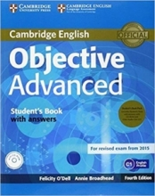 کتاب Objective Advanced 4th Edition: S.B+W.B+ CD