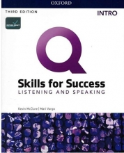 کتاب Q Skills for Success 3rd Intro Listening and Speaking +DVD