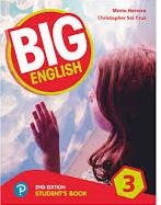 کتاب بیگ انگلیش Big English 2nd 3 SB+WB+CD