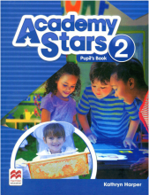 کتاب Academy Stars 2 (Pupil's Book+W.B)+CD