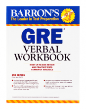 کتاب Barrons GRE Verbal Workbook 2nd Edition