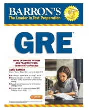 کتاب Barrons GRE22nd Edition+CD