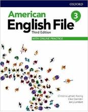 کتاب American English File 3rd 3 SB+WB+DVD کتاب امریکن انگلیش فایل 3 ویرایش سوم