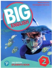 کتاب بیگ انگلیش Big English 2nd 2 SB+WB+CD