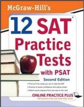 کتاب McGraw Hill's 12 SAT Practice Tests