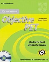 کتاب Objective PET (2nd) S.B+W.B+For school+2CD