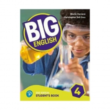 کتاب بیگ انگلیش Big English 2nd 4 SB+WB+CD