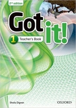 کتاب Got it!: Level 1: Teacher's Book