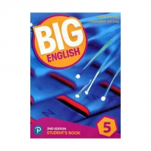 کتاب بیگ انگلیش Big English 2nd 5 SB+WB+CD