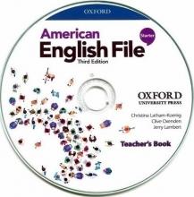 CD Teachers Book American English File 3rd Starter تیچر کتاب امریکن انگلیش فایل ویرایش سوم