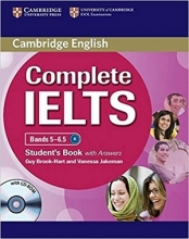 کتاب Cambridge English Complete IELTS B2 S+W+CD