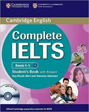 کتاب Cambridge English Complete IELTS B1 S+W+CD