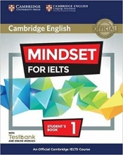 کتاب Cambridge English Mindset For IELTS 1 Student Book+CD