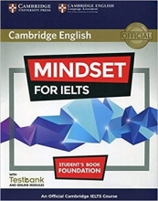 کتاب Cambridge English Mindset For IELTS Foundation Student Book+CD