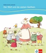 کتاب DER WOLF UND DIE SIEBEN GEISSLEIN داستان آلمانی کودکان رنگی